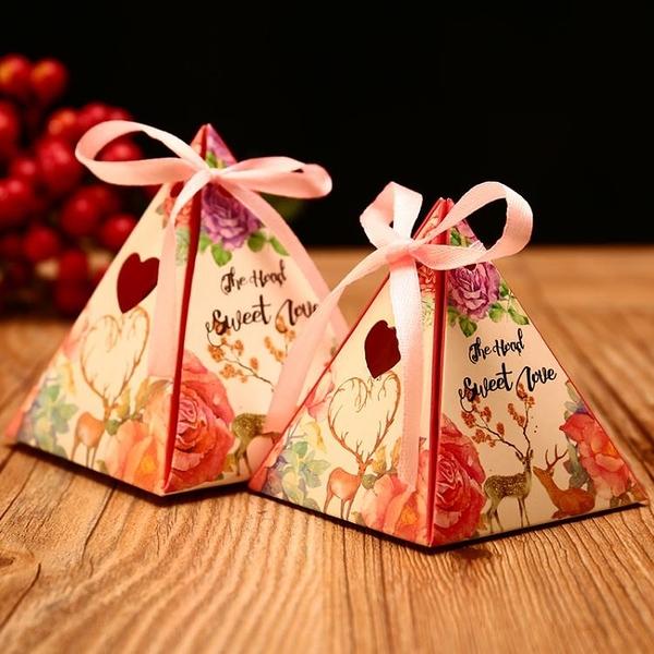 結婚用品婚禮道具創意絲帶包裝紙盒