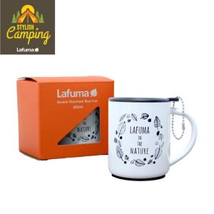【LAFUMA EQUIP】304不鏽鋼雙層杯(兩色任選)白色