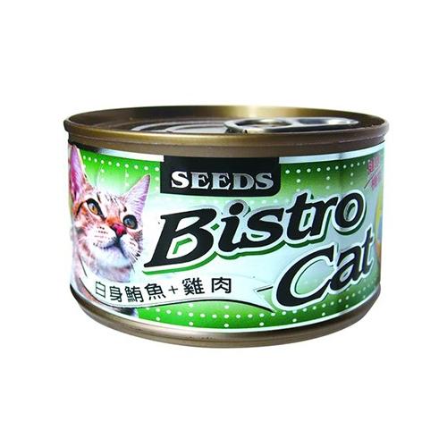 [寵樂子]聖萊西SEEDS 特級銀貓大罐 170g / 單罐 大貓罐 Bistro Cat