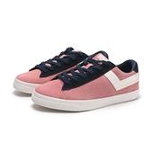 PONY 休閒鞋 粉白 藍 麂皮 女 (布魯克林) 84W1TS01PK