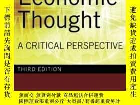 二手書博民逛書店History罕見Of Economic Thought-經濟思想史Y436638 E. K. Hunt Ro