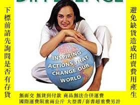 二手書博民逛書店One罕見Makes The Difference: Inspiring Actions That Change