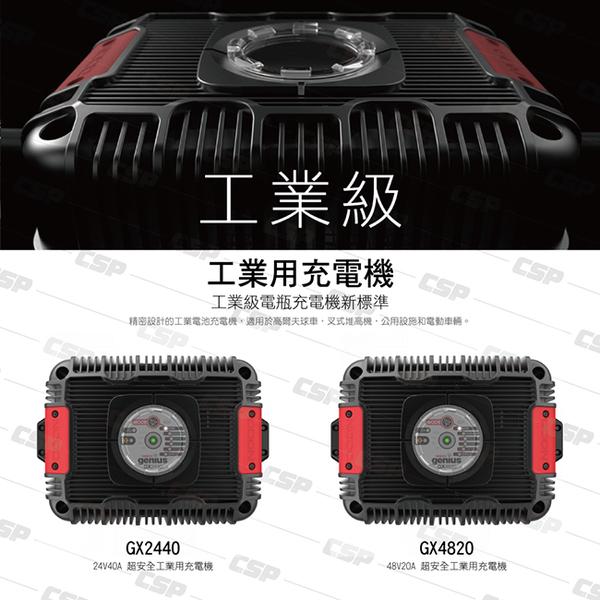 NOCO Genius GX2440工業級充電器 /24V 工業用 農耕機 巴士 漁船 魚船 船 遊艇 工程作業車