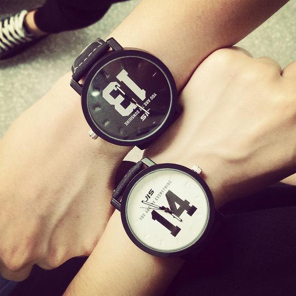 【原創館】情侶手表  學生皮帶 手錶