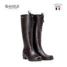 【AIGLE】女 經典休閒膠靴(AG-F8405 黑色)