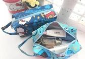 手拿包-化妝包卡通鴨大容量環保化妝包手提包旅行便攜防水洗漱包收納包 多麗絲旗艦店