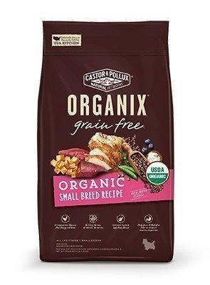 *WANG*歐奇斯ORGANIX《95%有機飼料-無穀小型犬》4磅 2019全新改版