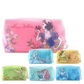 Disney迪士尼 柔紗化妝包 隨身包 萬用包 ◆86小舖 ◆