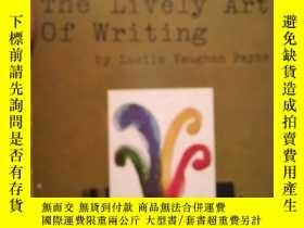 二手書博民逛書店The罕見Lively Art of WritingY16790
