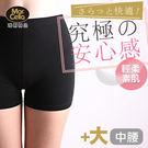 瑪榭。翹臀優質隱形安全褲 - 平口加大款MW-01705
