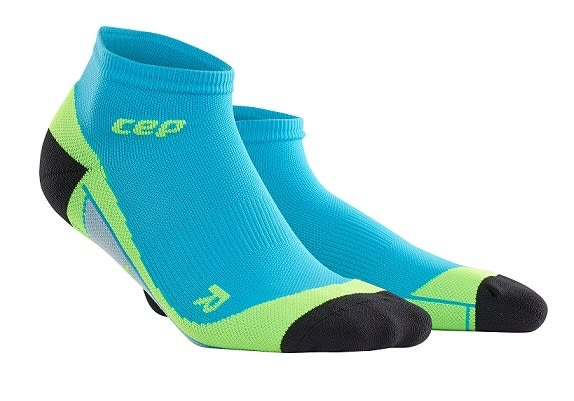 CEP 【歐洲第一品牌】壓縮踝襪  夏威夷藍/螢光綠