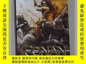 二手書博民逛書店英語原版罕見Conan the Barbarian by Rob