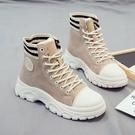 靴子 短靴 2021年秋季新款爆款馬丁靴女鞋百搭雪地短靴女秋冬季靴子春秋單靴