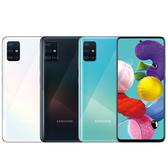 三星 SAMSUNG Galaxy A51 (A515) 矩形模組四鏡頭手機~登錄送10000mAh移動電源,再送玻璃貼+空壓殼