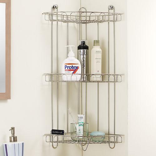 浴室置物架 置物架【E0011】五星級不鏽鋼三層角落架 MIT台灣製 完美主義