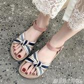 漢服鞋子兒童女童繡花鞋女夏季古裝手工復古漢鞋中國風老北京布鞋 格蘭小舖