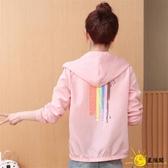 大尺碼防曬衣 時尚洋氣女仙女2020夏季新款韓版騎車戶外短款外套空調衫