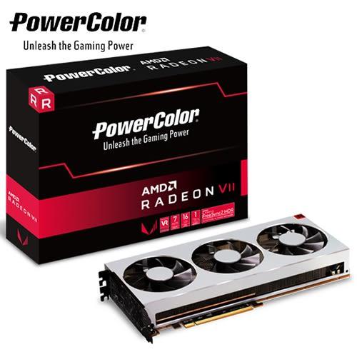 PowerColor 撼訊 Radeon VII 16GB HBM2 顯示卡AXVII 16GBHBM2-3DH