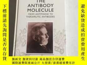 二手書博民逛書店the罕見antibody molecule 抗體分子Y25607
