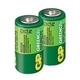 【鼎立資訊】GP超霸1號綠能特級碳鋅電池2入