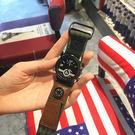 手錶歐美潮牌大錶盤復古男女學生手錶休閒大氣潮流個性運動尼龍帆布帶 喵小姐