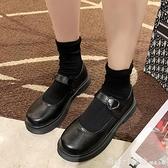 牛津鞋 小皮鞋女夏ins潮2020新款日系jk洛麗塔圓頭網紅英倫風瑪麗珍單鞋 開春特惠