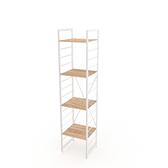 組 - 特力屋萊特 組合式層架 白框/淺木紋色 40x40x188cm