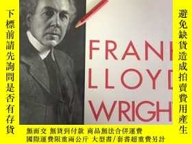 二手書博民逛書店the罕見early work of the great architect,frank lloyd wright