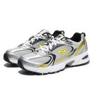 NEW BALANCE 休閒鞋 NB530 復古老爹鞋 銀黃色 韓國代購款 男女 (布魯克林) MR530SC