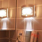 Led人體智能感應燈光控小夜燈創意走廊樓道燈床頭充電壁燈開關起