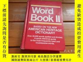 二手書博民逛書店THE罕見WORD BOOK II, BASED ON THE