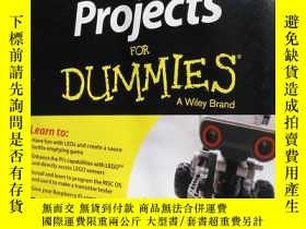 二手書博民逛書店Raspberry罕見Pi Projects FOR DUMMI