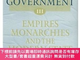 二手書博民逛書店The罕見History Of Government From The Earliest TimesY4645