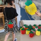 韓版可愛兒童小包包幼兒園寶寶水果卡通草莓女童斜背包斜跨單肩包 滿天星