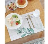 餐桌墊西餐墊北歐防燙墊碗墊子PVC防水防油餐盤墊【極簡生活館】