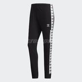 adidas 長褲 Light Tre Originals 黑 白 男款 經典三葉草標籤 緊身型剪裁 【PUMP306】 DX4234