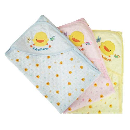 【奇買親子購物網】黃色小鴨 PiYO PiYO 夏季包巾-藍色/粉色/黃色