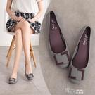 果凍鞋果凍鞋女涼鞋沙灘鞋防滑單鞋膠鞋  【喜慶新年】