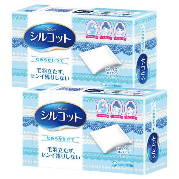 日本 絲花 化妝棉(80片x2盒)【小三美日】
