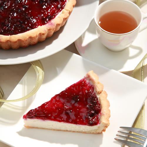 藍莓起司派 7吋/ 600g★愛家純素 非基改純淨素食 全素美食 素起司派
