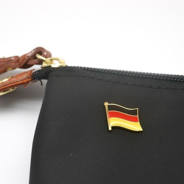時尚男臂章補丁 三件組上阿默高地標+德國國旗幟刺繡 +徽章 貼布 刺繡貼 補衣服貼 臂章