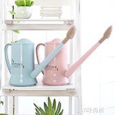 長嘴灑水壺塑料家用園藝養花工具澆水器盆栽澆花噴壺噴水壺花灑壺    JSY時尚屋