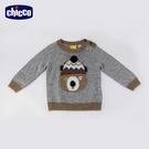 chicco-滑雪世界-提織動物羊毛混紡針織上衣