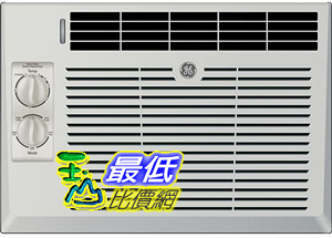 [107美國直購] GE AEV05LX 17 Window Air Conditioner with 5000 Cooling BTU in Light Cool Gray