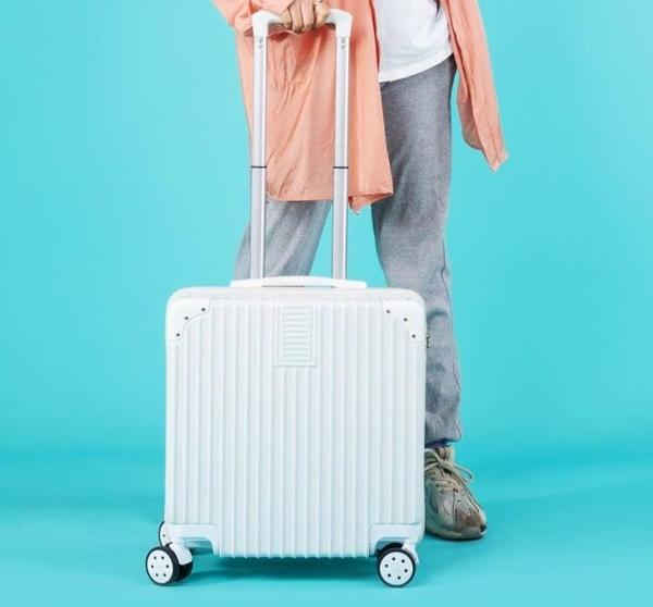 拉桿箱 【順豐包郵】行李箱女小號18寸登機迷你拉桿20寸男小清新密碼箱子