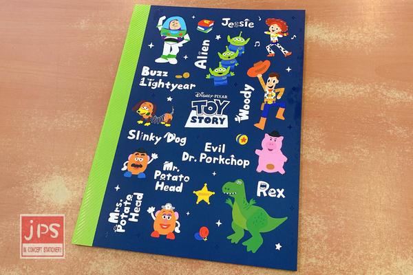 Disney 迪士尼 Toy Story 玩具總動員 16K定頁筆記 DPNA-241