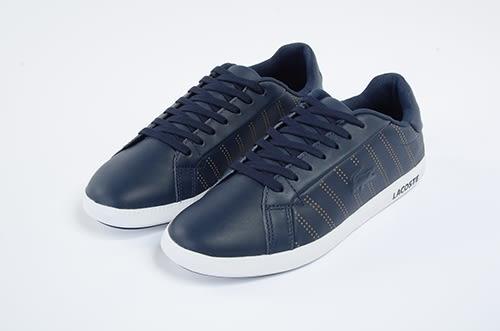 LACOSTE 女鞋 深藍色 -GRADUATE 318 1- 鞋款 ( 36SPW0028-092) 18C