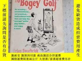 二手書博民逛書店16開英文原版罕見the duffer s guide to bogey golfY281995 Brian