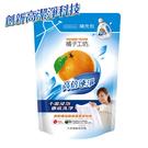 橘子工坊 天然濃縮洗衣精補充包 -高倍速淨(2000ml/包)