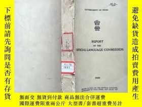 二手書博民逛書店GOVERNMENT罕見OF INDIA REPORT OF T